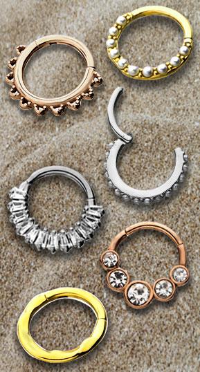 Wholesale Hinged Segment Rings