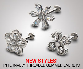 Wholesale Gemmed Fixed Navels